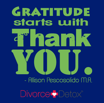 Gratitude starts with Thank You