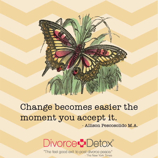 how to accept change in your life
